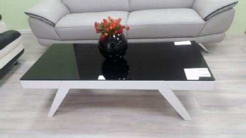 שולחן אפוקסי עם זכוכית